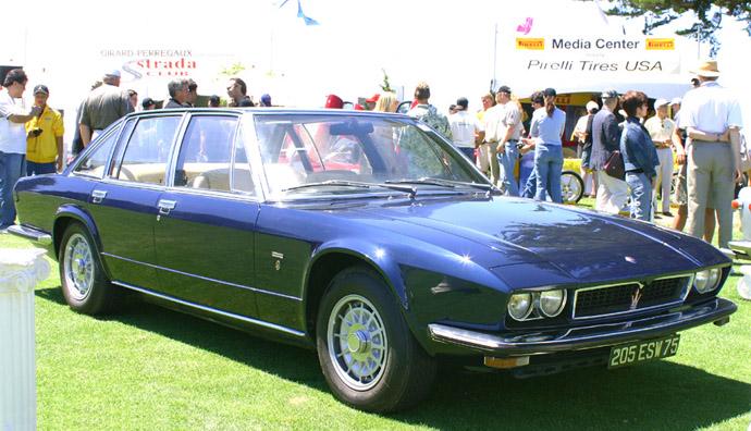 Maserati Quattroporte II by Frua